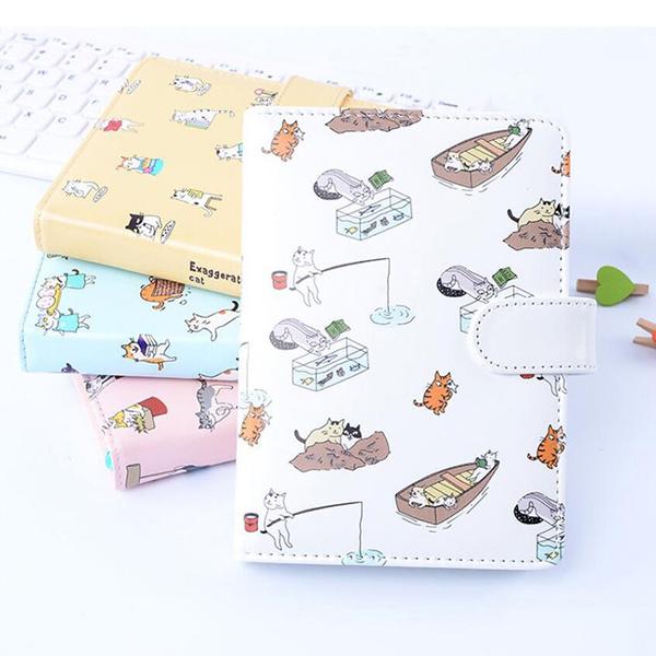 cute, portable, journaldiary, leather