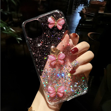 case, butterfly, samsungnote20ultracase, Bling