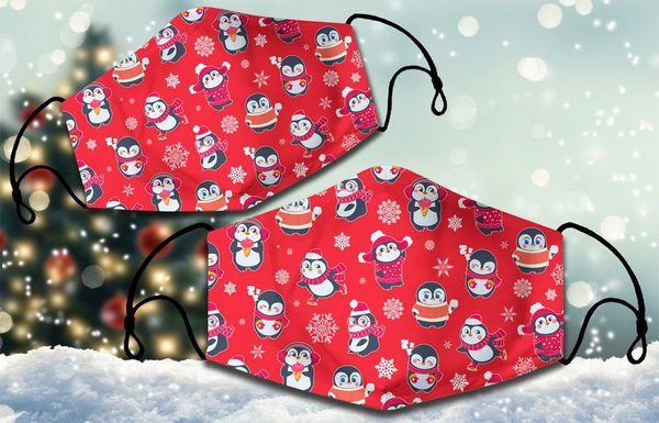 facemaskcotton, Christmas, facemaskthreelaye, Masks