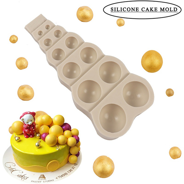 semiroundball, Handmade, Food, cake mold