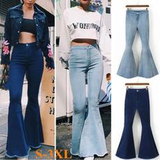 retro style, high waist, high waist jeans, dark blue