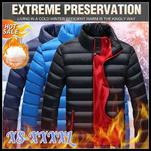 standcollarcottoncoat, Plus Size, Fashion, winter coat