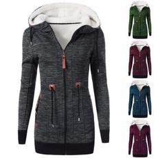 Jacket, Plus Size, Winter, Sleeve