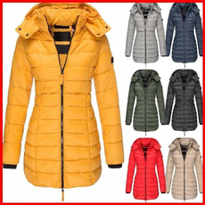 Down Jacket, hooded, Winter, padded
