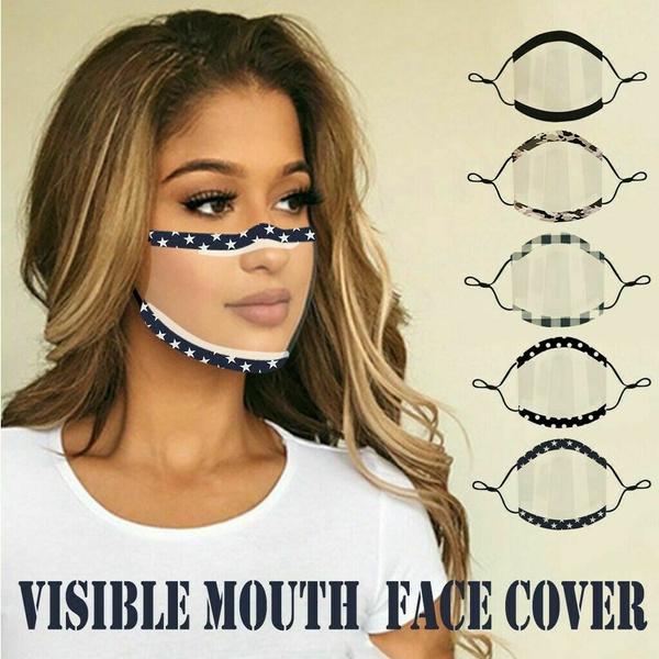 transparentmask, dustmask, shield, unisexmask