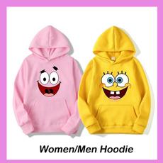hoodiesformen, Fashion, cartoonprintedhoodie, Winter