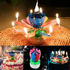 flowercandle, Flowers, Romantic, Gifts