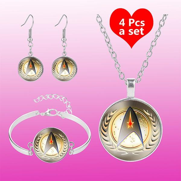 glassdomenecklace, Star, Jewelry, Cheap Jewelry Set