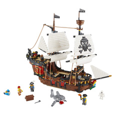 building, Toy, Lego, ship