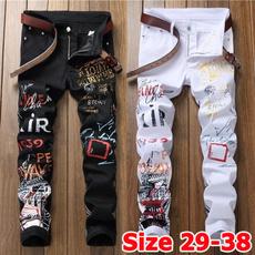 men's jeans, blackjeansmen, whitejean, raggedjean