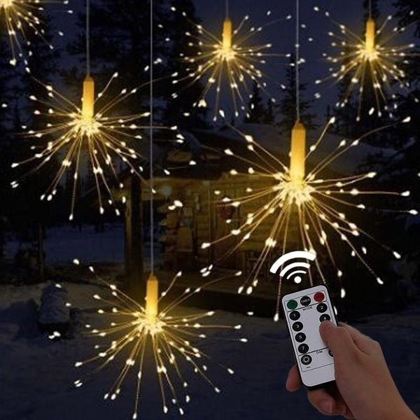 Copper, christmasfairylight, Outdoor, Star