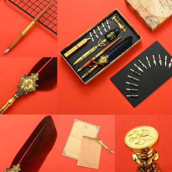 waxsealstamp, waxseal, ersatzspitzefeatherpen, Pen