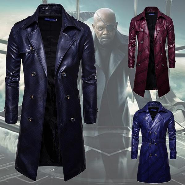 men coat, Fashion, Winter, Long Coat