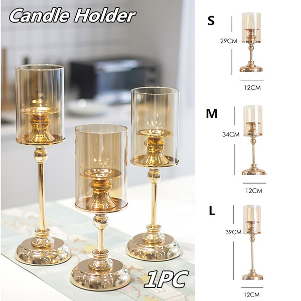 Candleholders, Decor, Jewelry, gold