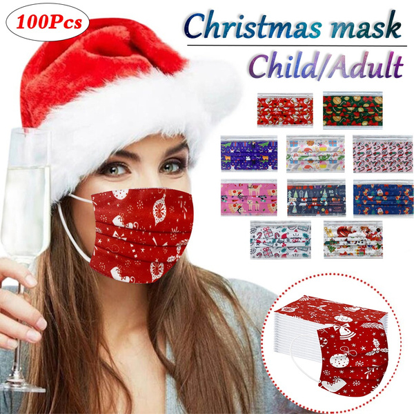 windmask, dustmask, Christmas, unisex