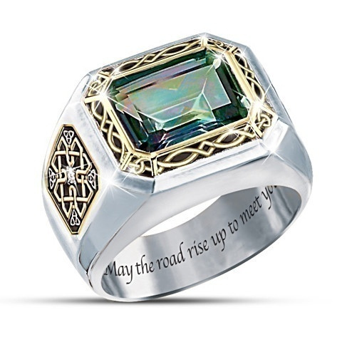 Sterling, silverringsformen, DIAMOND, wedding ring