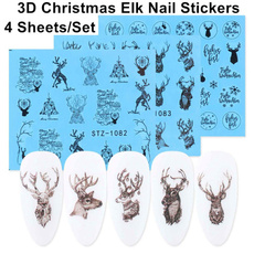 Nails, nail stickers, elknailsticker, Beauty