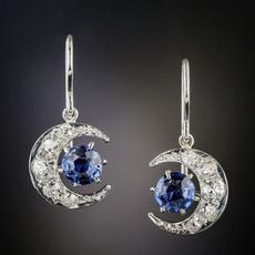 Fashion, Gemstone Earrings, Sterling Silver Earrings, Earring
