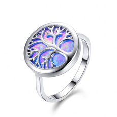 wedding ring, 925 silver rings, Silver Ring, opalring