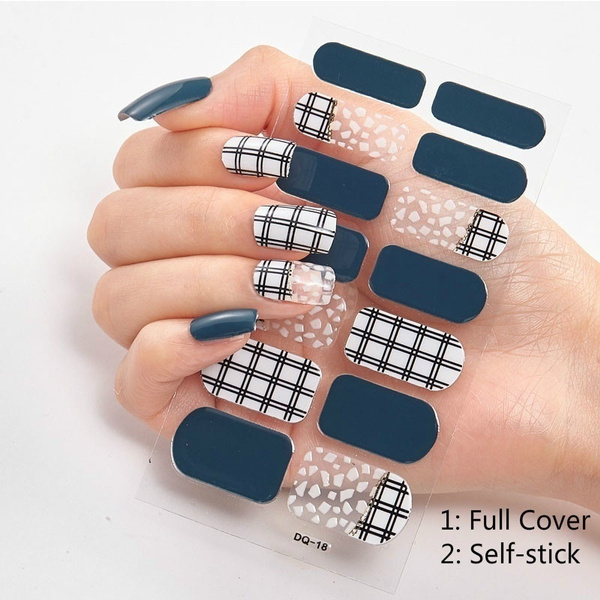 nail stickers, selfsticknailsticker, Beauty, Stickers