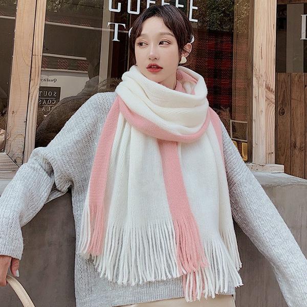 fauxwoolscarf, Knitting, Winter, Gel