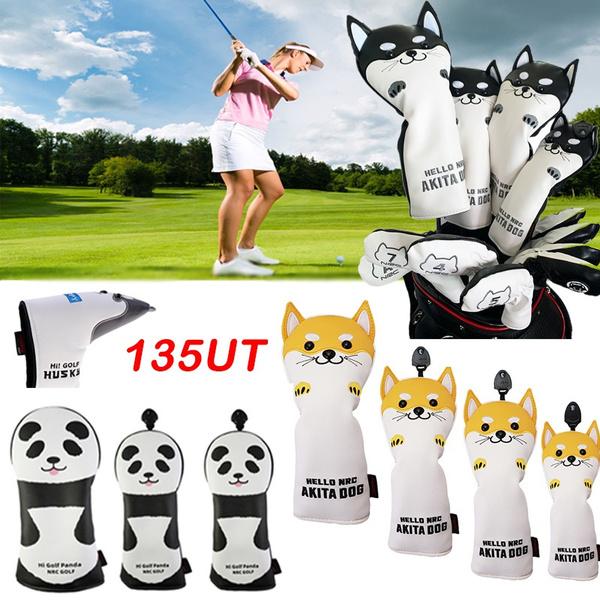 golfcover, cute, Head, Golf