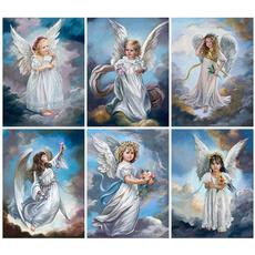 DIAMOND, Home Decor, Angel, Rhinestone