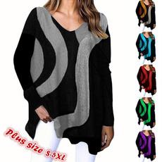 blouse, Plus Size, Sleeve, long sleeved shirt