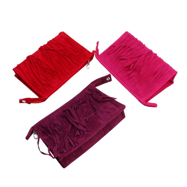 Tassels, Fashion, Makeup bag, Beauty