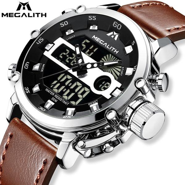 Chronograph, LED Watch, analogdigitalwatch, led