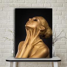 art, Home Decor, gold, Home & Living