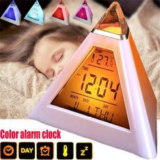 snoozealarmclock, Colorful, Clock, lights