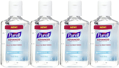 handsanitizer, purell, sanitizer, Clean