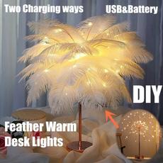 feathertablelight, Home & Kitchen, Fashion, led