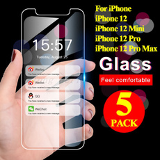 Screen Protectors, iphone12protemperedgla, Glass, Iphone 4