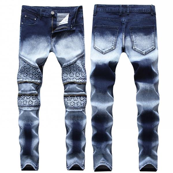 men jeans, motorcyclejean, zippers, Denim