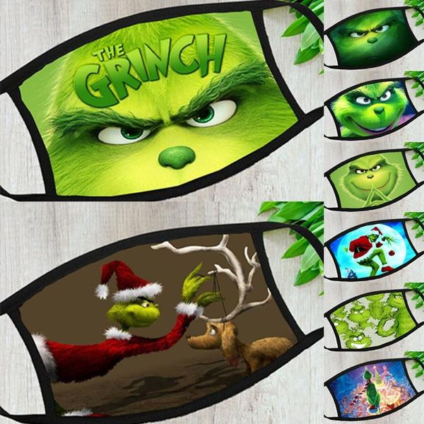 Funny, Christmas, washablemask, Masks