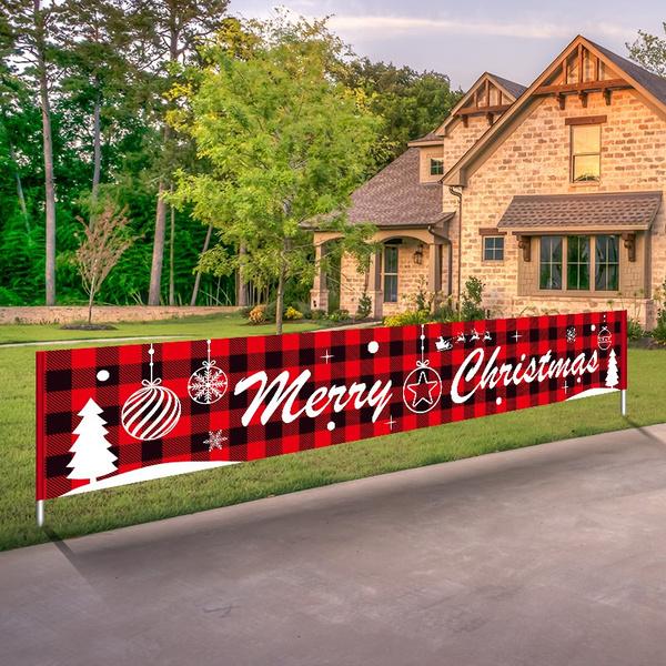 Decor, Outdoor, Christmas, Home & Living