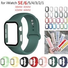 applewatchseries6casestrap, case, iwatchsestraptemperedglasscase, Computers