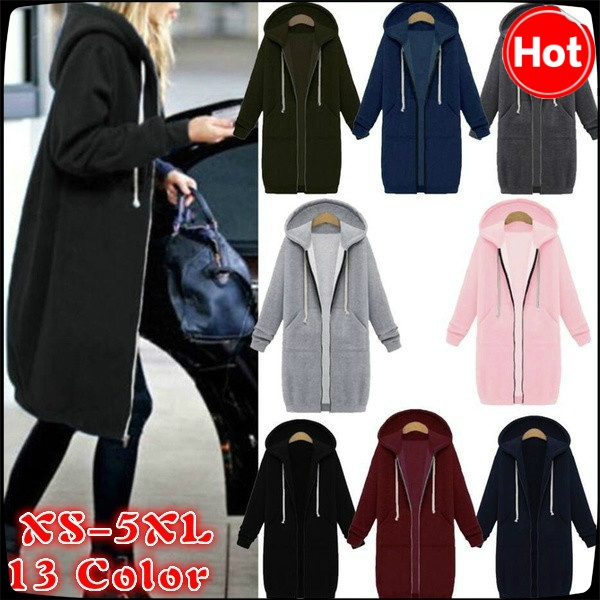 hooded sweater, Winter, Long sleeved, Plus Size
