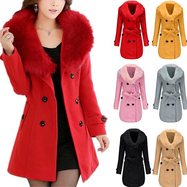 woolen, woolenovercoat, lapeljacket, Double Breasted