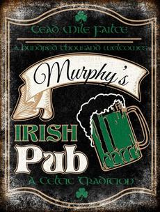 muiphusirishpub, Irish, irishbartinsign, housedecorsign