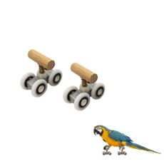 parrotsskateboard, birdstrainingtoy, parrotsskate, rollerskate