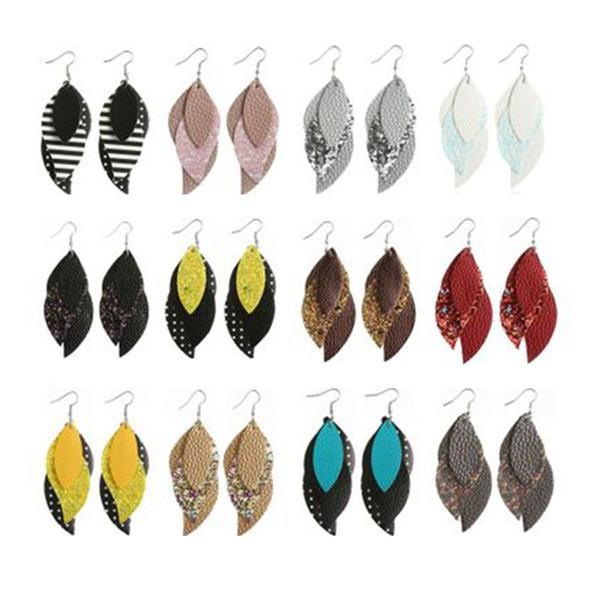 Dangle Earring, Jewelry, Earring, leather