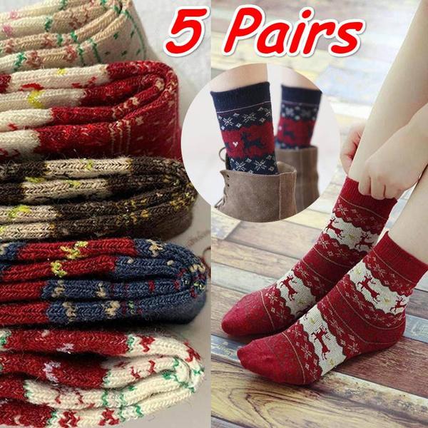 womensock, Christmas, knitsock, Socks