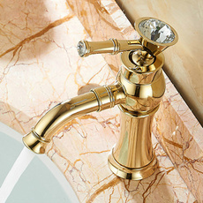 Brass, Faucets, kitchentap, gold