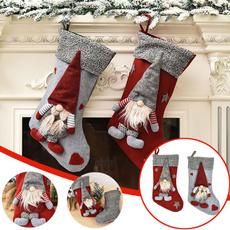 Decor, Santa, diysupplie, Socks
