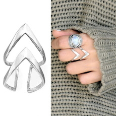 Sterling, Antique, antiquering, Triangles