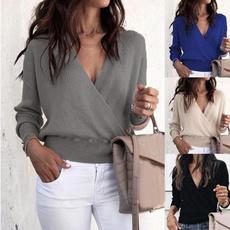 Women Sweater, Winter, Sleeve, pullover sweater