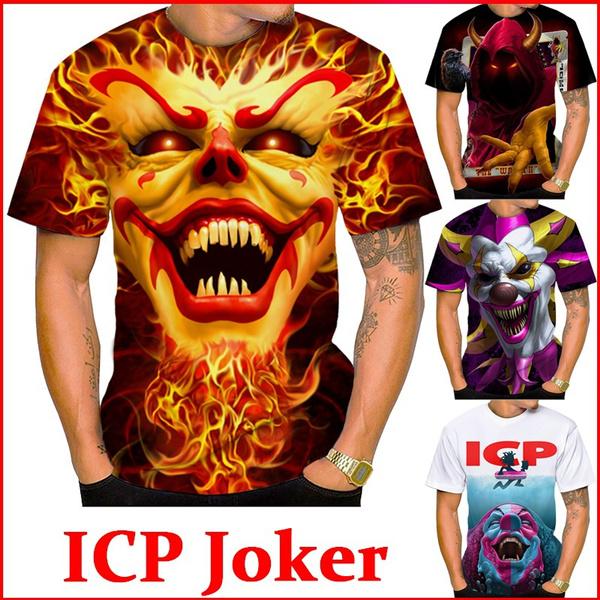 Mens T Shirt, Fashion, Summer, insaneclownposse